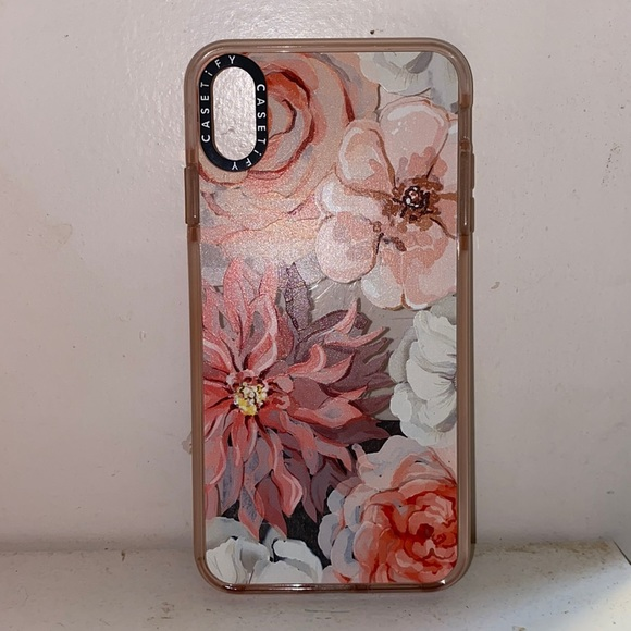 Casetify iPhone Xs Max Ultra Impact Case Pink
